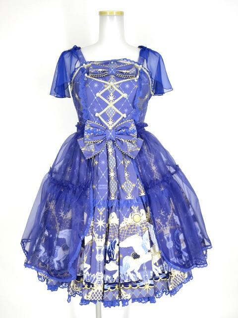 Angelic Pretty Crystal Dream Carnivalティアードジャンパースカート
