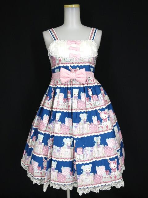 Angelic Pretty Fancy Box胸切替ジャンパースカート