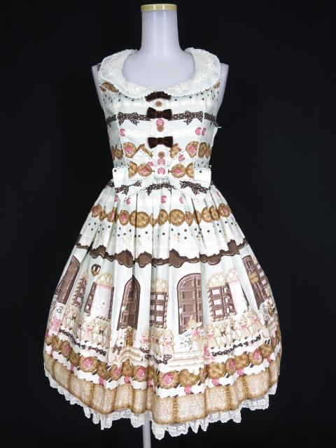 Angelic Pretty Sweet Cream House襟付ジャンパースカート
