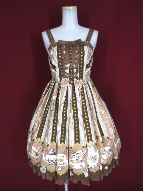 Angelic Pretty Wonder Partyシャーリングジャンパースカート