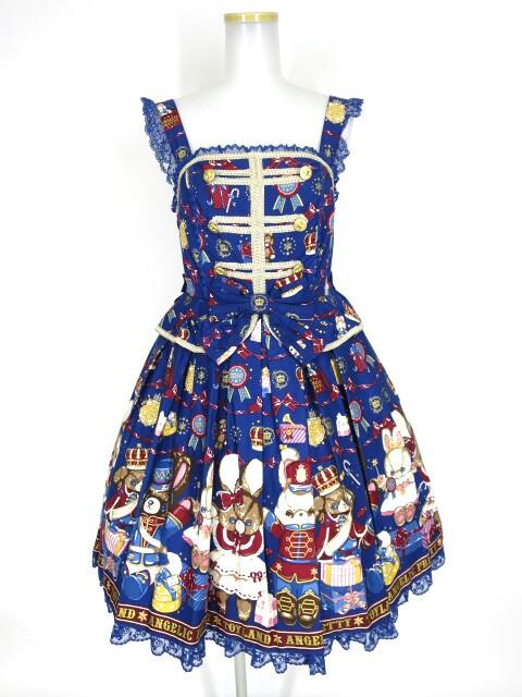 Angelic Pretty Merry Bunnyジャンパースカート