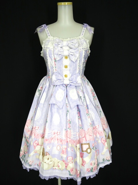 Angelic Pretty Romantic Catジャンパースカート