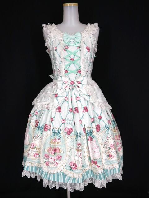 Angelic Pretty Salon de the' Roseジャンパースカート