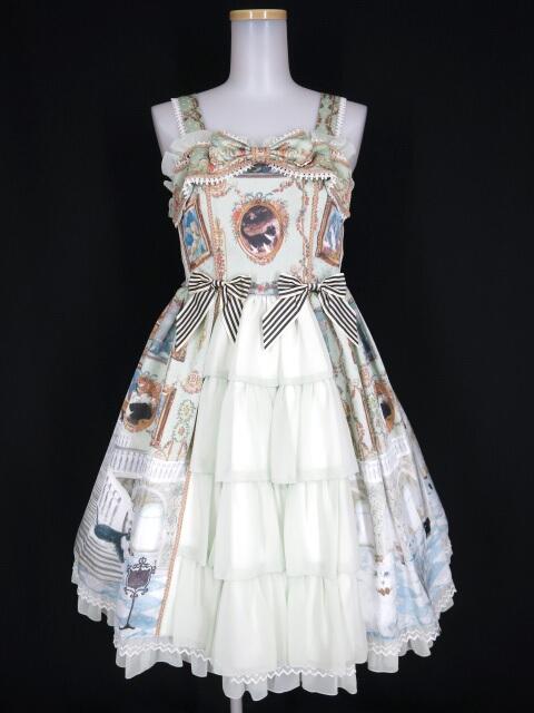 BABY, THE STARS SHINE BRIGHT Mon Chouchou Hermitage柄 Reine ジャンパースカート