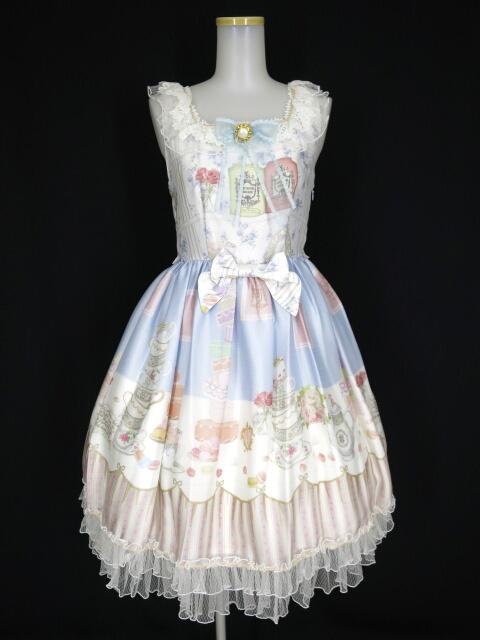 BABY, THE STARS SHINE BRIGHT Salon de the Minette柄Macaronジャンパースカート