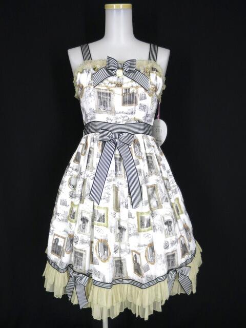 BABY, THE STARS SHINE BRIGHT Roman Sweet Secret柄Audrey ジャンパースカート&カチューシャ セット