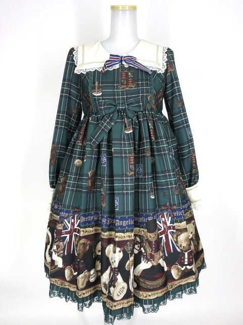 Angelic Pretty British Bearワンピース