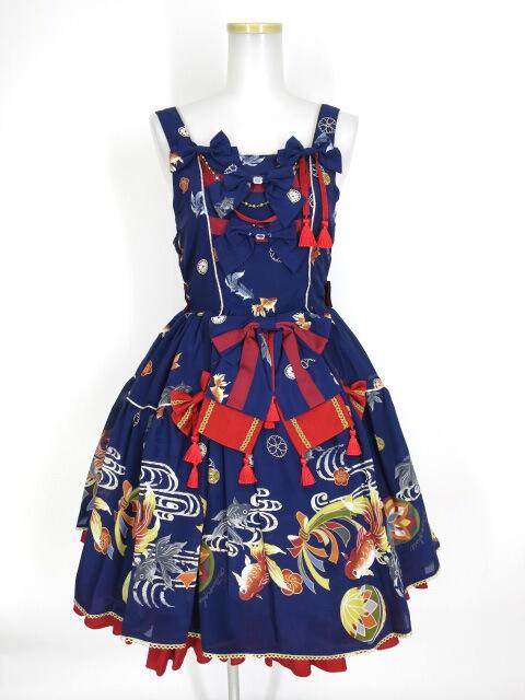Metamorphose 乙女の白昼夢フリルジャンパースカート
