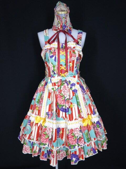 Metamorphose Marie ジャンパースカート(ヘッドドレス付き)