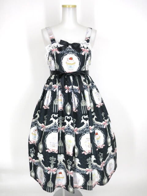 Royal Princess Alice スイーツウサギのティーパーティージャンパースカート(青木美沙子ちゃんコラボ)
