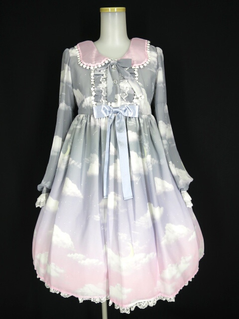 Angelic Pretty Misty Sky Brilliant ColorワンピースSet
