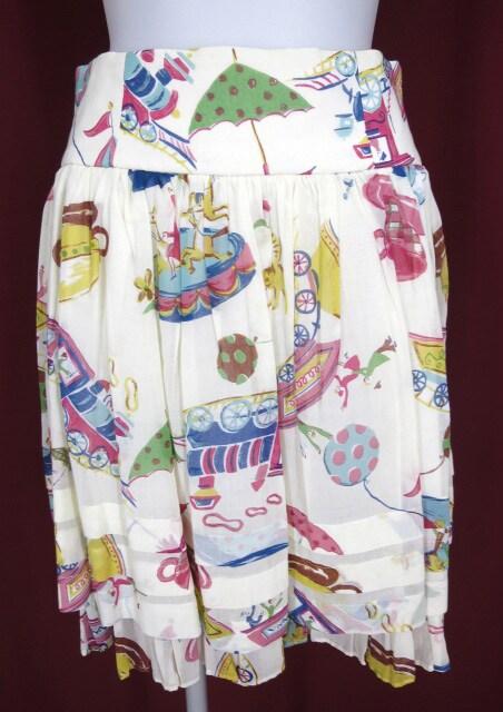 Jane Marple 遊園地柄スカート