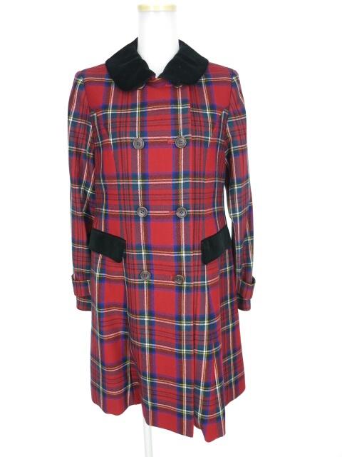 Jane Marple オリジナルタータンのチェスターフィールド コート