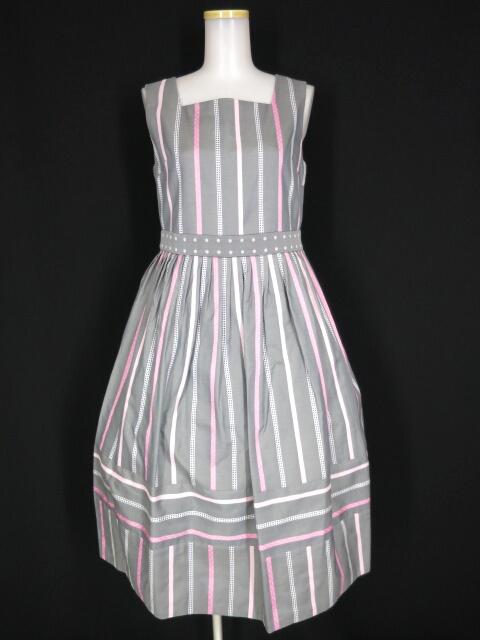 Jane Marple Ribbon stripe jacquardのドミトリードレス