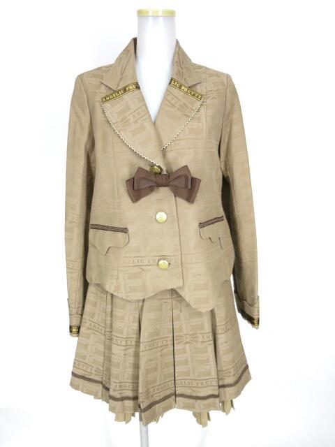 Angelic Pretty Melty Ribbon Chocolateジャケット&スカート セットアップ