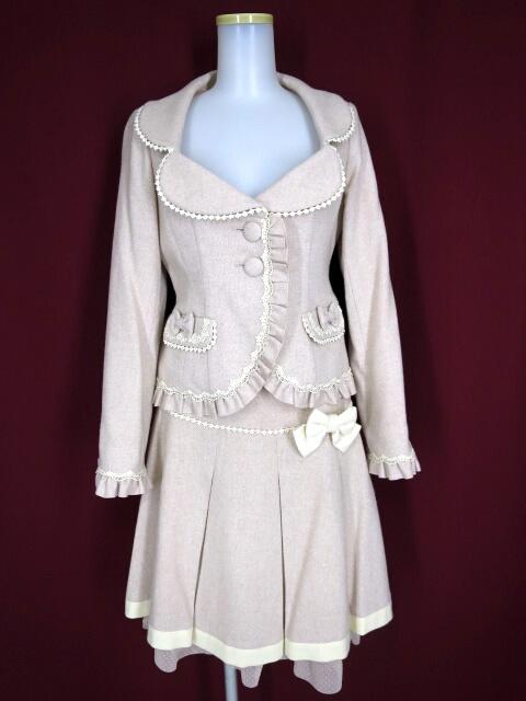 Mary Magdalene エマニュエルフリルジャケット&スカート セットアップ