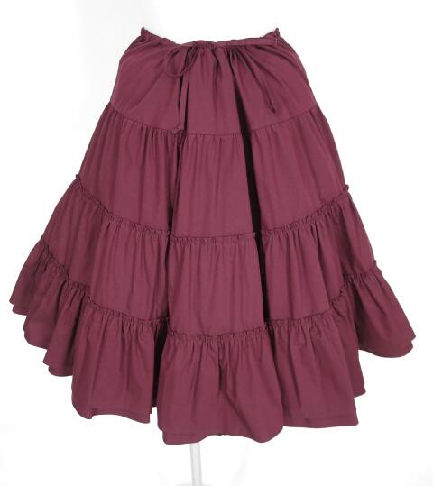 Jane Marple ティアードフリルスカート