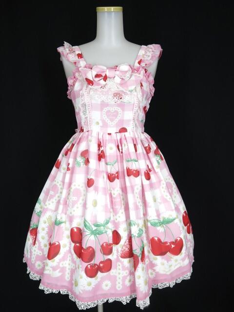 Angelic Pretty チェリーマルグリットジャンパースカート