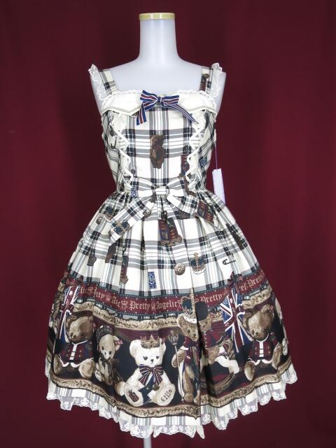 Angelic Pretty British Bearジャンパースカート