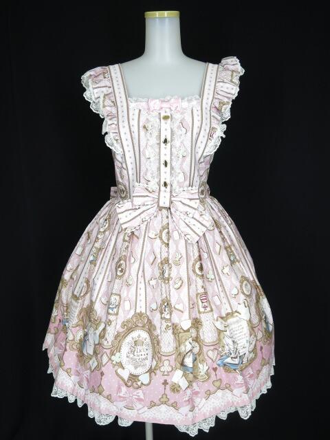 Angelic Pretty Disney「ALICE IN WONDERLAND 」ジャンパースカート