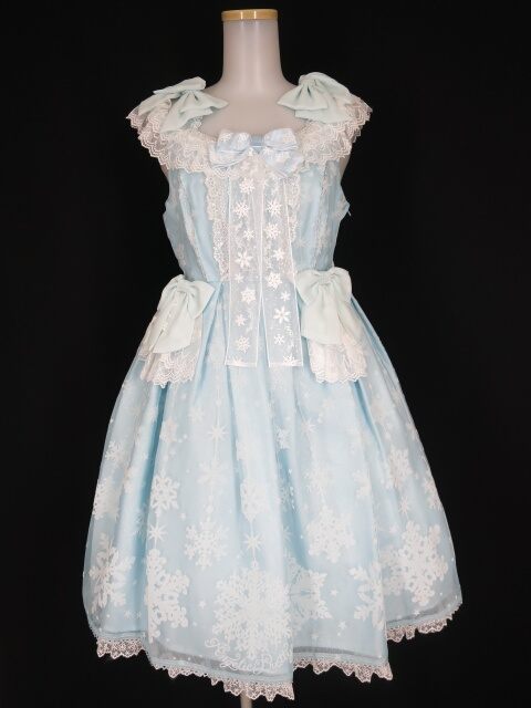 Angelic Pretty Jewelry Snowジャンパースカート