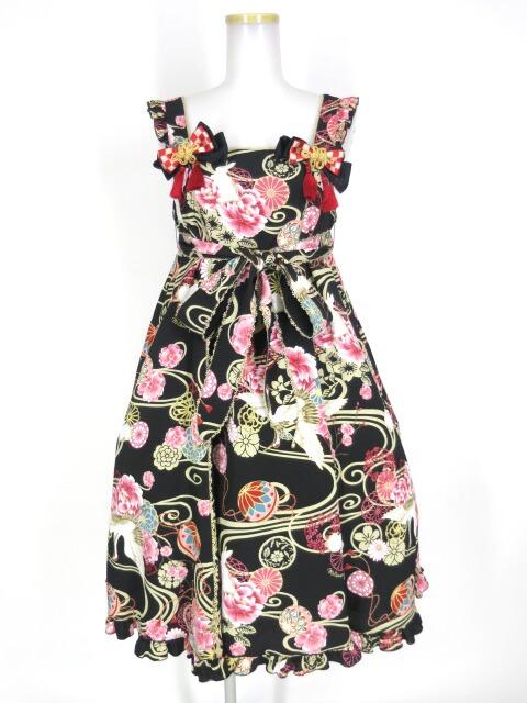 Metamorphose 花鳥風月~乙女のはなごろも~Aラインジャンパースカート