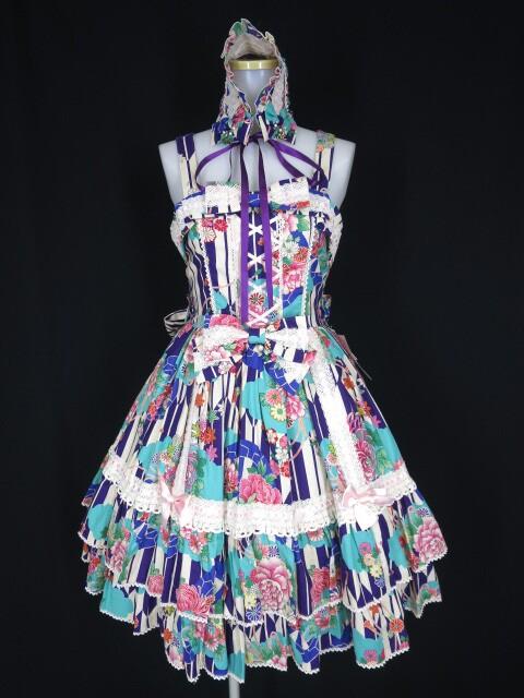 Metamorphose Marie ジャンパースカート(ヘッドドレス付)