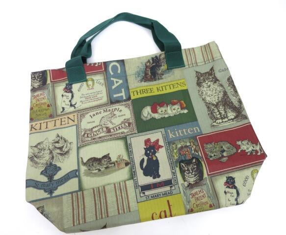 Jane Marple Old Catポスターのトートバッグ