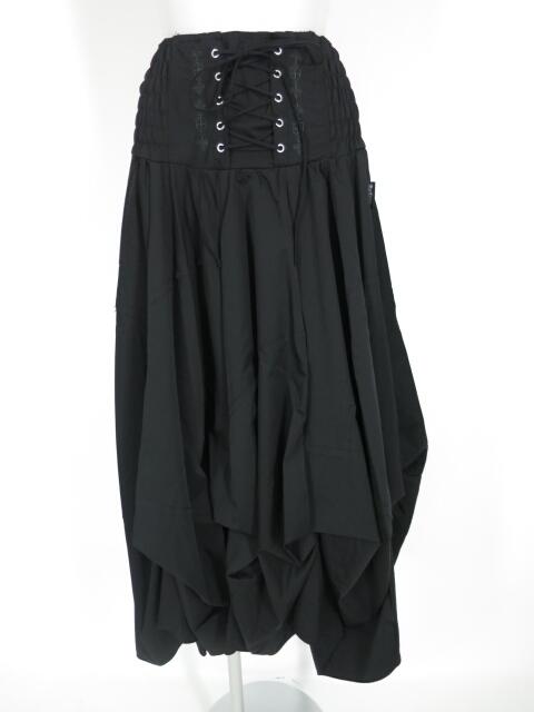 Ozz Croce 2wayフレアロングスカート