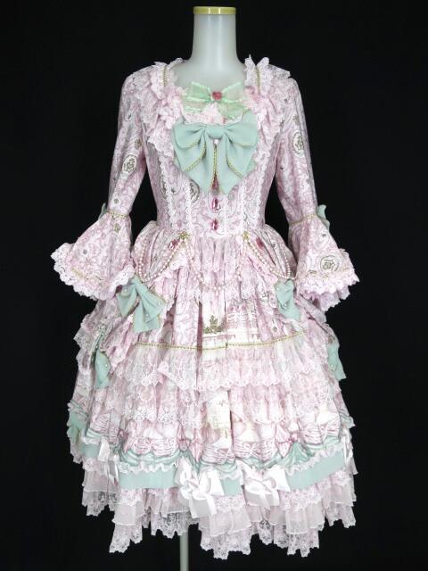Angelic Pretty Antoinette Decoration Dress set(ワンピース+ヘッドドレス)