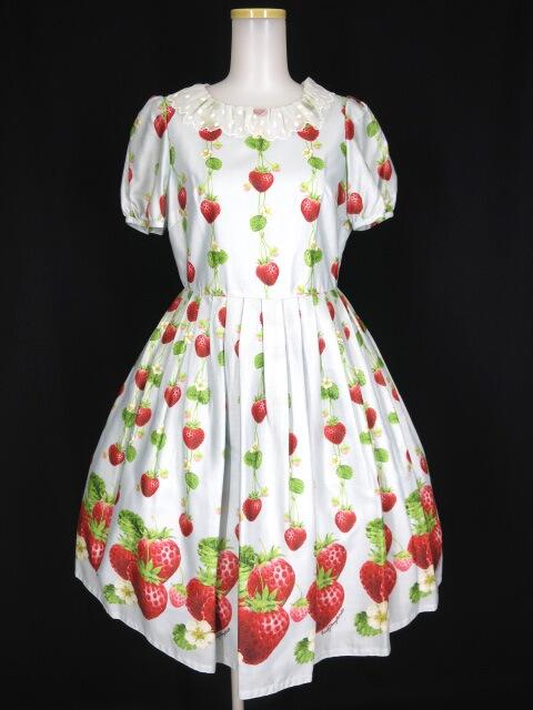 Emily Temple cute トリプルStrawberryワンピース