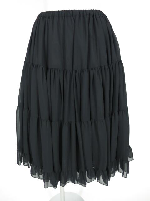 Victorian maiden ボリュームシフォン ペチコートスカート