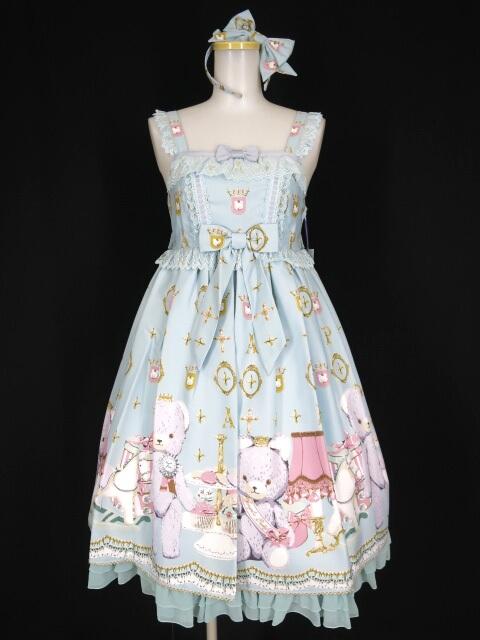 Angelic Pretty Charlotte's Bear Special ジャンパースカートSet