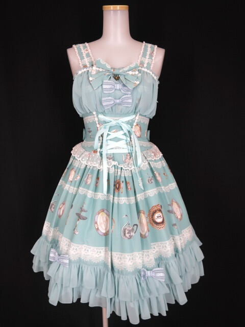 Metamorphose Noble tea partyフリルジャンパースカート