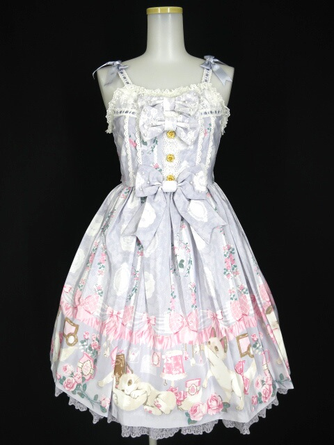 Angelic Pretty Romantic Catジャンパースカート