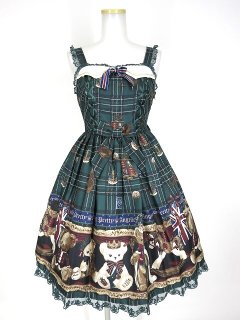 Angelic Pretty British Bearジャンパースカート
