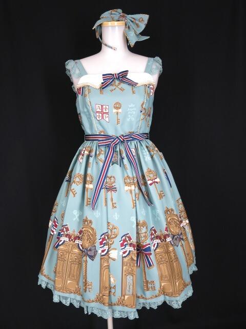 Angelic Pretty British Keysジャンパースカート&カチューシャ