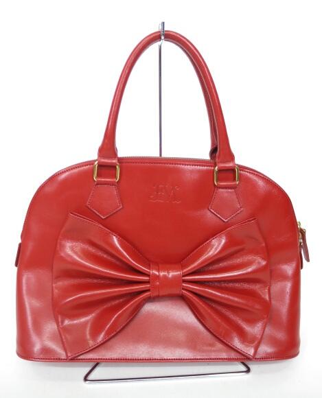 Jane Marple ロイヤルリボンのボストンバッグ