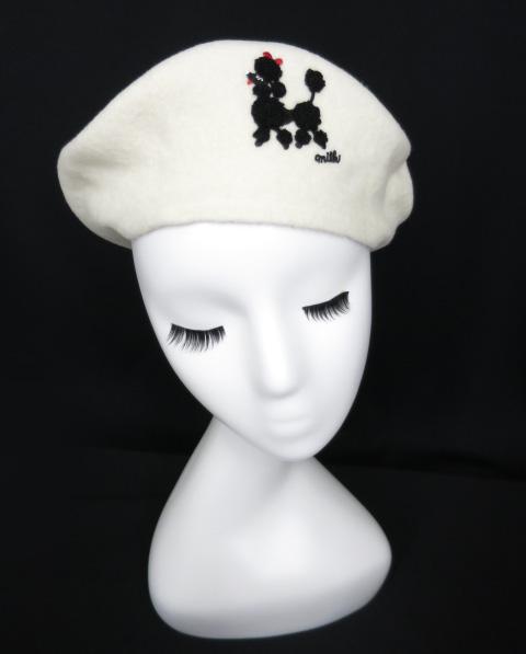 MILK プードルベレー帽