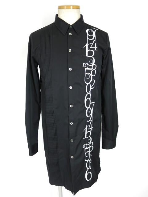 MiDiom ランダムナンバーロングシャツ