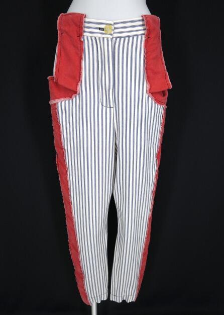 Vivienne Westwood ANGLOMANIA ヒッコリーストライプパンツ