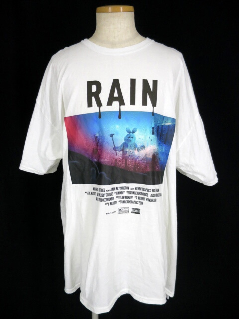 MILK BOY RAIN BUNNY Tシャツ