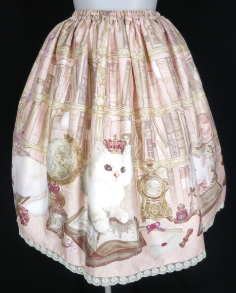 Enchantlic Enchantilly Queen Cat~秘密の書斎~スカート