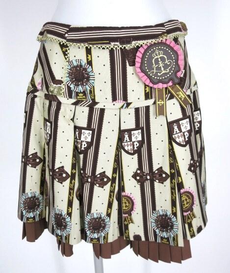 Angelic Pretty Chocolate Rosette スカート&オーバーニーソックス