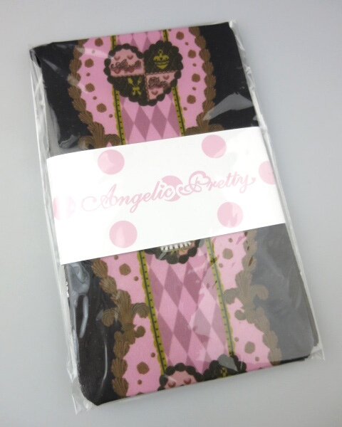 Angelic Pretty Queen Chocolateタイツ