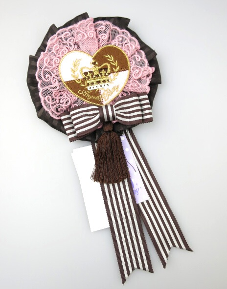 Angelic Pretty Queen Chocolateロゼッタブローチ
