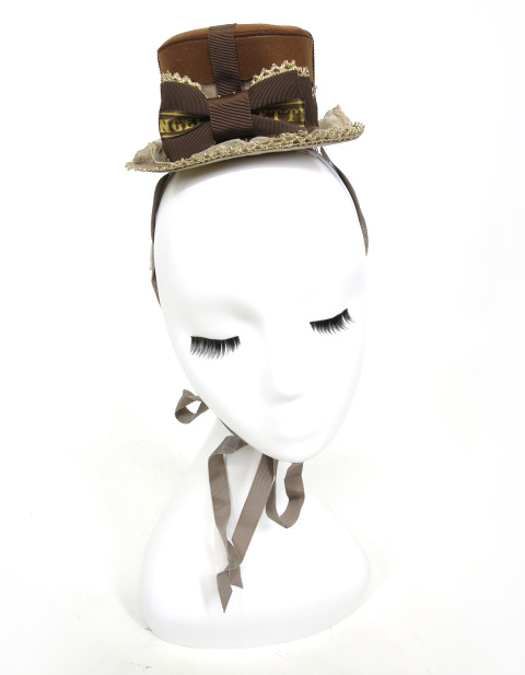 Angelic Pretty Melty Ribbon ChocolateミニHat