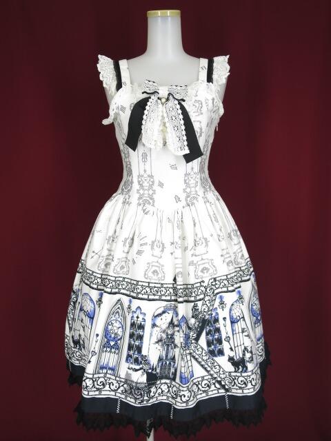 ALICE and the PIRATES アリスと時計塔の秘密柄ジャンパースカート1型
