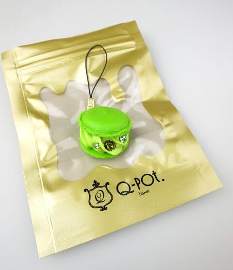Q-pot. 抹茶マカロンストラップ