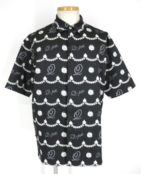 Q-pot. パールホイップ シャツ